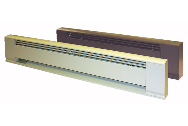 Hydronic / Architectural Style Baseboard Wireway Cover by TPI