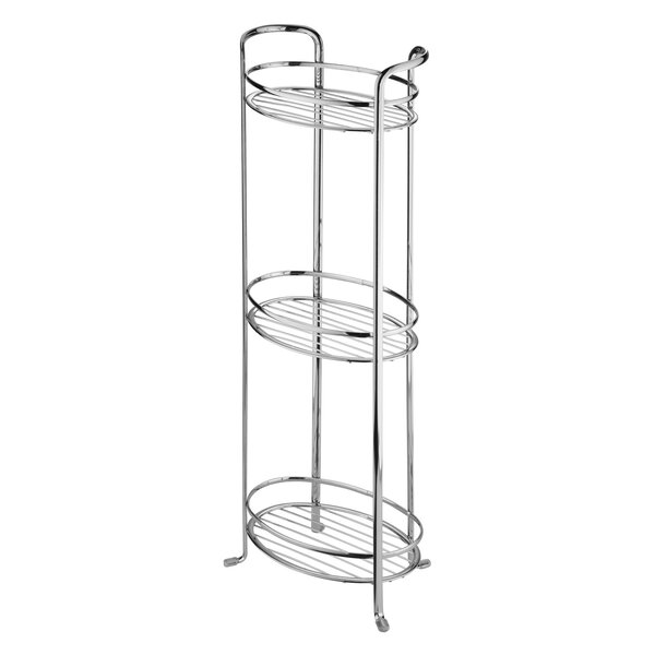 Eilerman 9 W x 26.2 H Bathroom Shelf by Rebrilliant