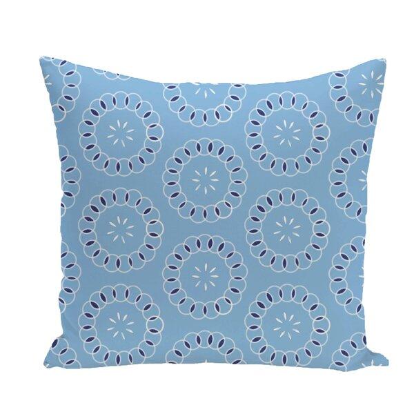 Flo Floral Print Throw Pillow by Latitude Run