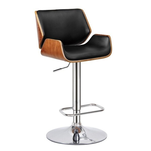 Guisborough Adjustable Height Swivel Bar Stool by Corrigan Studio
