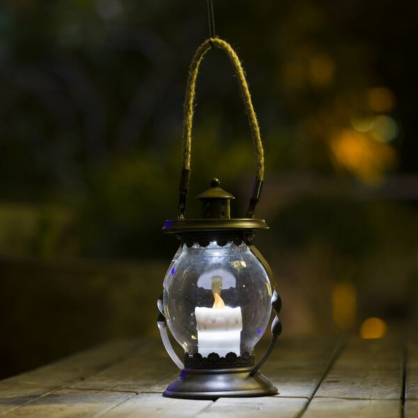 Hanging Hurricane Lantern by Winsome House