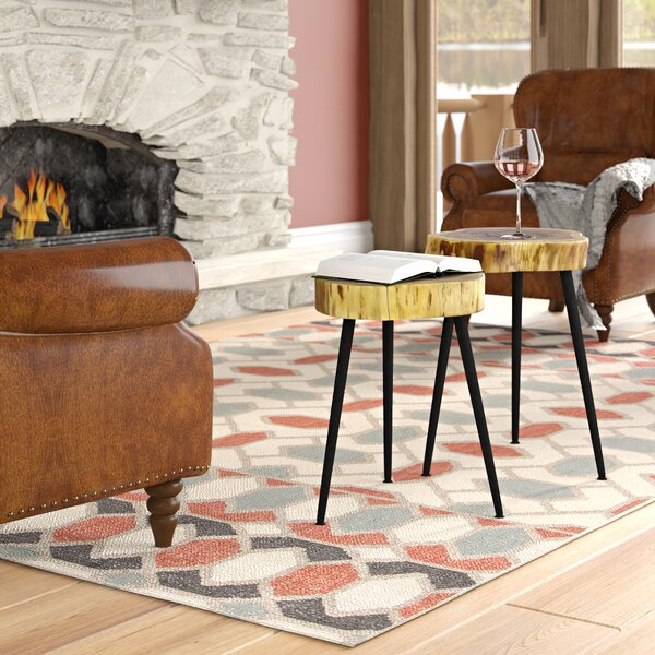 Serafina 3 Legs End Table Set By Union Rustic