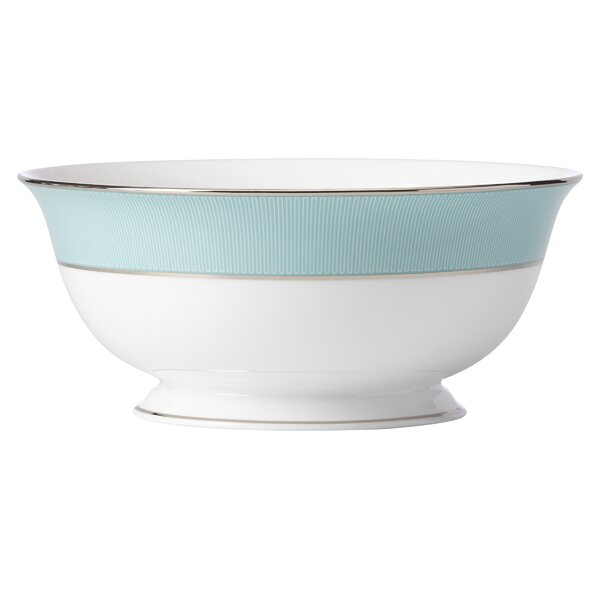 Brian Gluckstein Clara Aqua Serving Bowl by Lenox