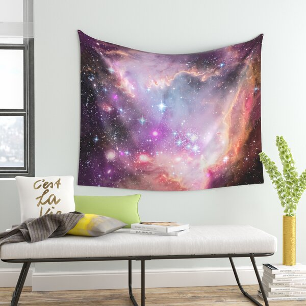 Cosmic Cloud by Suzanne Carter Wall Tapestry by East Urban Home