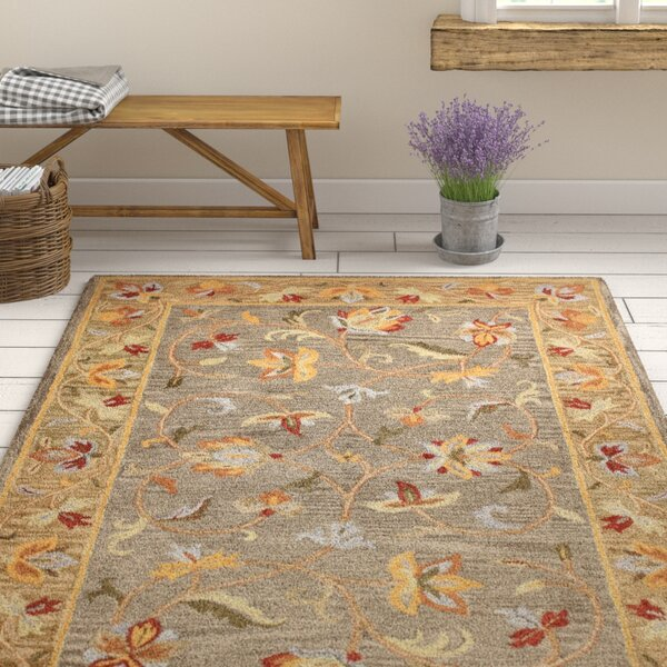 Tymeo Grey Area Rug by August Grove