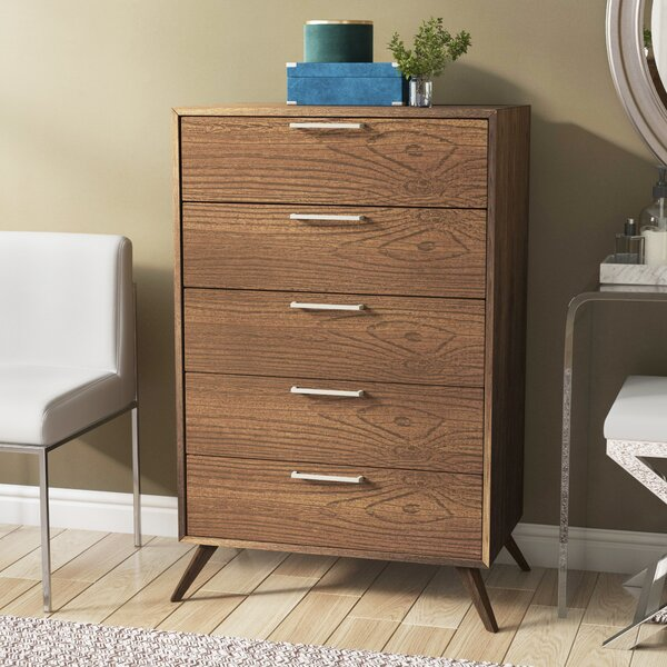 Ronan 5 Drawer Chest by Modern Rustic Interiors