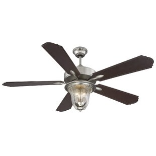 Shop for 52 Timberlake 5-Blade Indoor/Outdoor Ceiling Fan with Remote By Darby Home Co