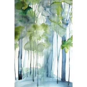 'New Growth' by Christine Lindstrom Painting Print on Wrapped Canvas by Marmont Hill