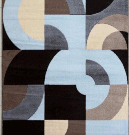 Warden Blue Area Rug by Ebern Designs
