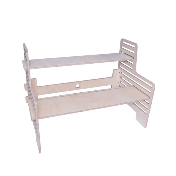 Legaspi Double Wide Standing Desk by Symple Stuff