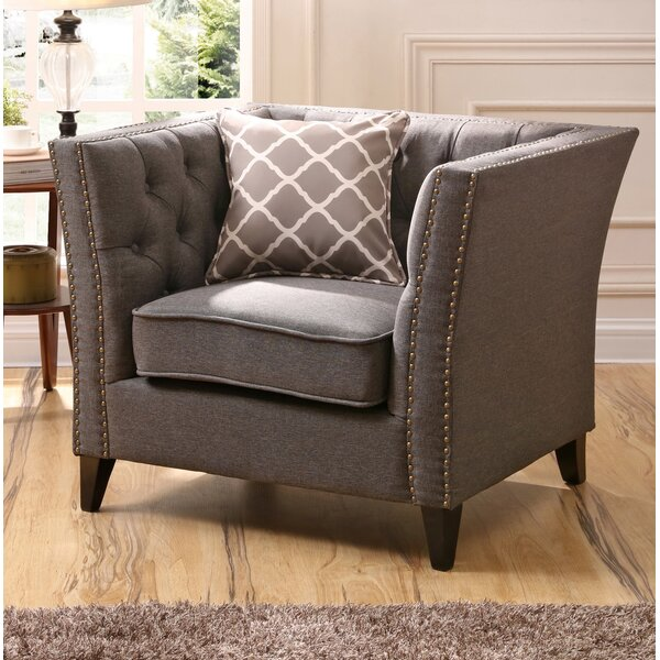 Mcgee Chesterfield Chair by Canora Grey