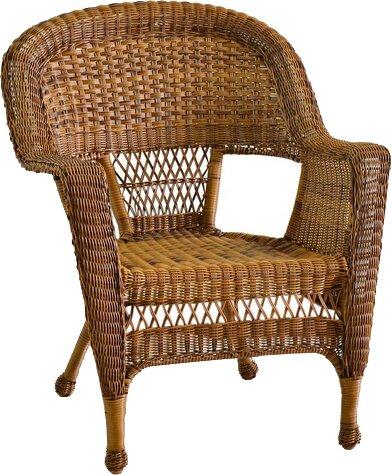 Karan Wicker Chair by Ophelia & Co.