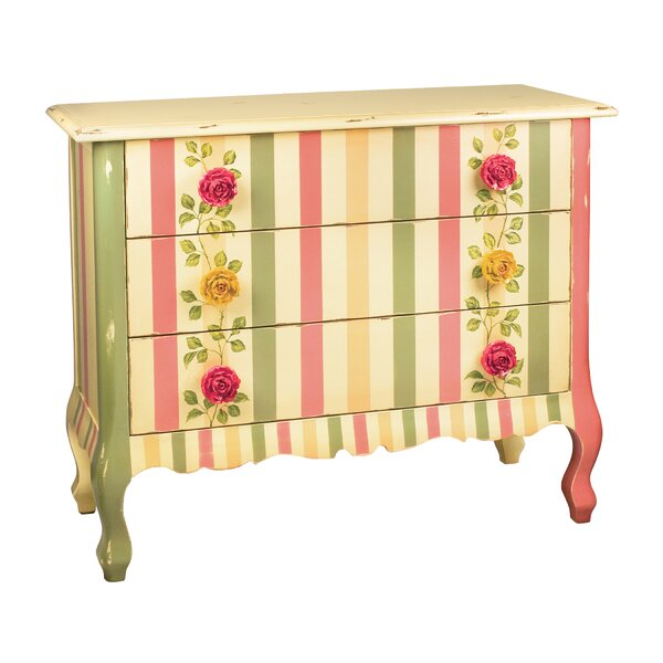 Eccles 3 Drawer Accent Chest by August Grove