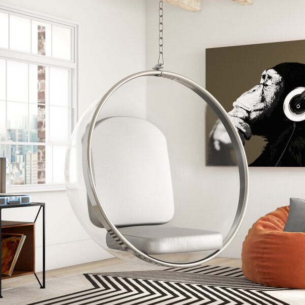Browerville Swivel Balloon Chair by Trule Teen Trule Teen