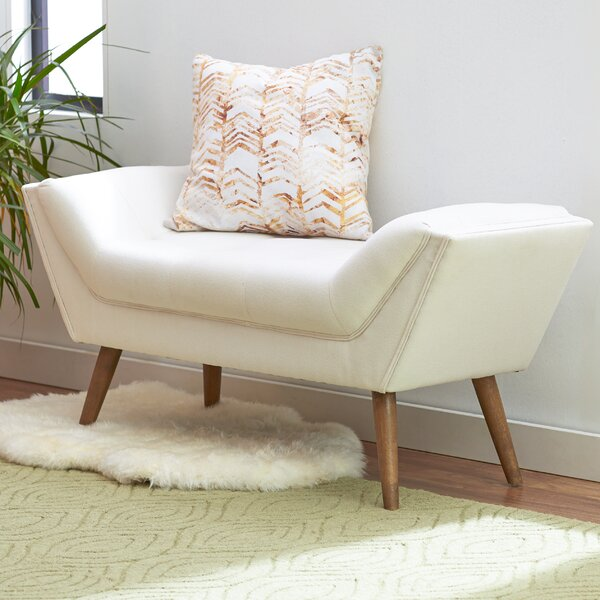 Shaula Upholstered Bench by Mercury Row