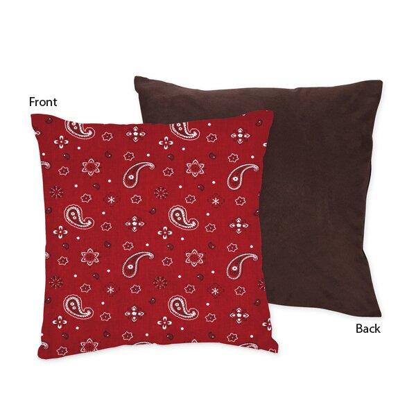 Wild West Cowboy Throw Pillow by Sweet Jojo Designs