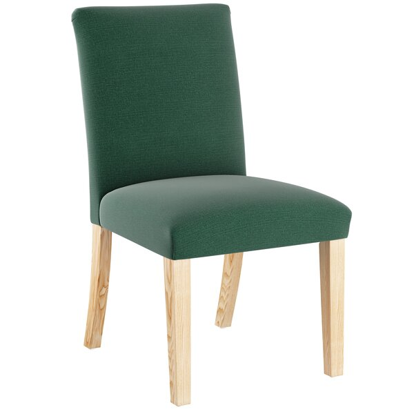 Cybart Upholstered Dining Chair by Loon Peak