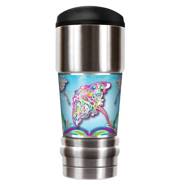 Stingray Dream 18 oz. Stainless Steel Travel Tumbler by Great American Products