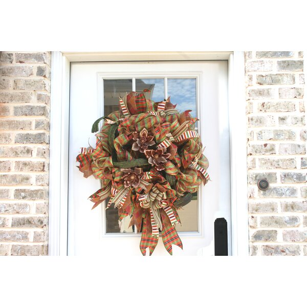 Harvest Magnolia 27 Wreath by The Holiday Aisle