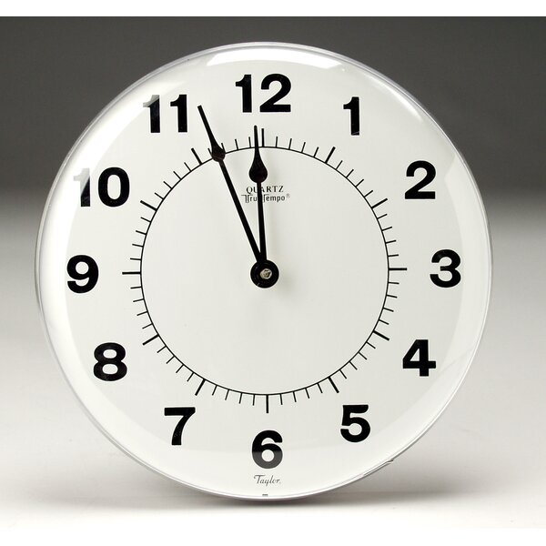 12 Wall Clock by Taylor