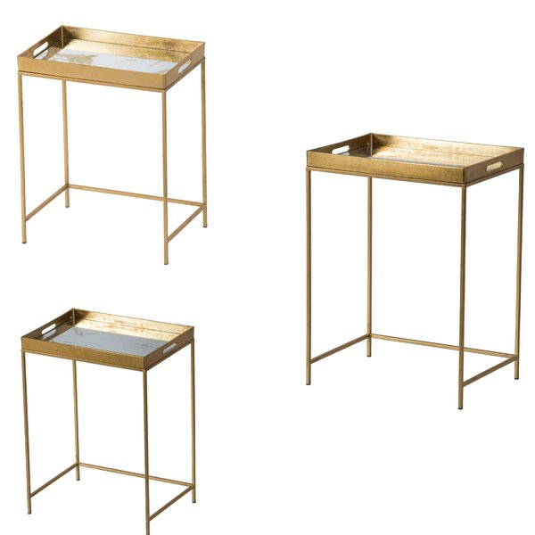 Schantz Tray Top Nesting Tables By Everly Quinn