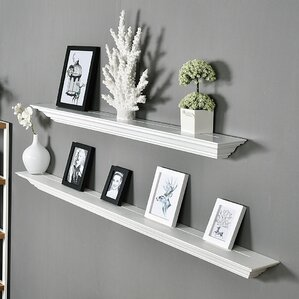 Floting Shelves floating & hanging shelves you'll love | wayfair