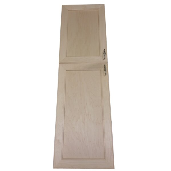 Village 15.5 x 47  Wall Mounted Cabinet by WG Wood Products