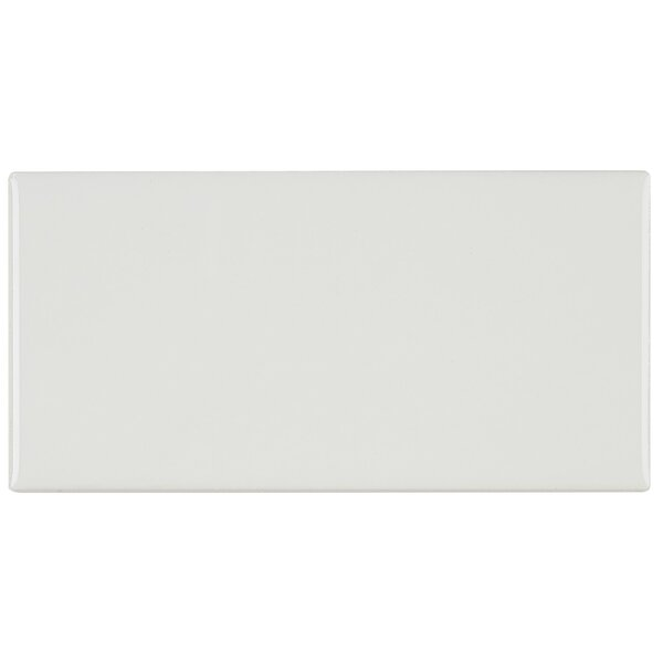 Guilford 3 x 6 Ceramic Subway Tile in White by Itona Tile