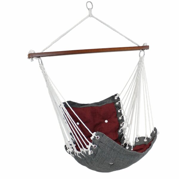 Cade Tufted Swing Chair by Millwood Pines