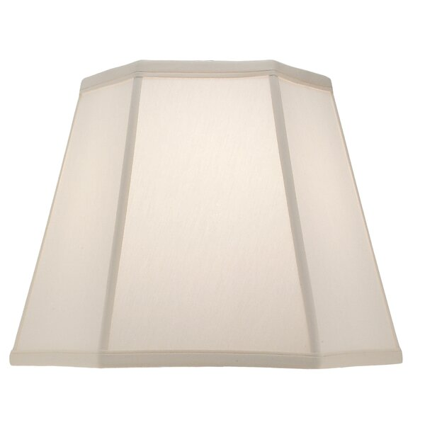 12 H Linen Empire Lamp Shade ( Spider ) in Ivory