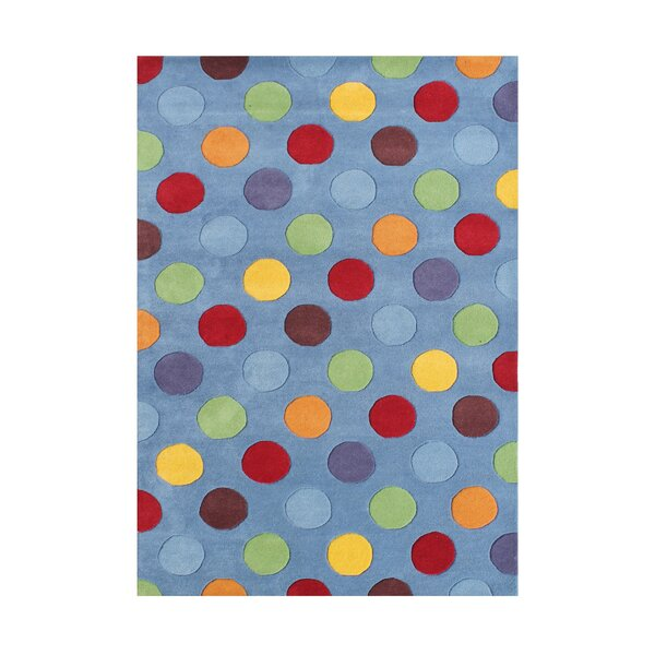 Allaine  Hand-Tufted Dusty Blue Area Rug by Wildon Home ®