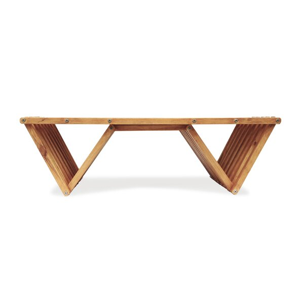Darcus Wooden Coffee Table by Union Rustic