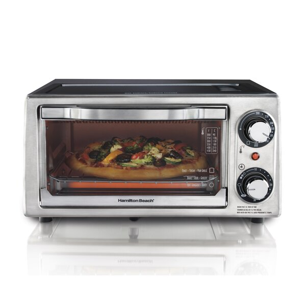 4 Slice Toaster Oven by Hamilton Beach