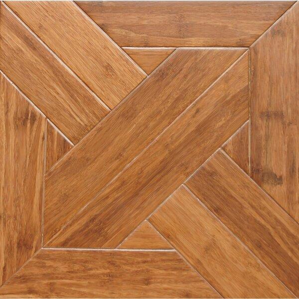 15.75 Engineered Bamboo Wood Parquet Hardwood Floo