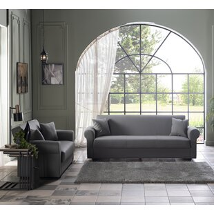 Annecliffe 2 Piece Sleeper Living Room Set by Winston Porter