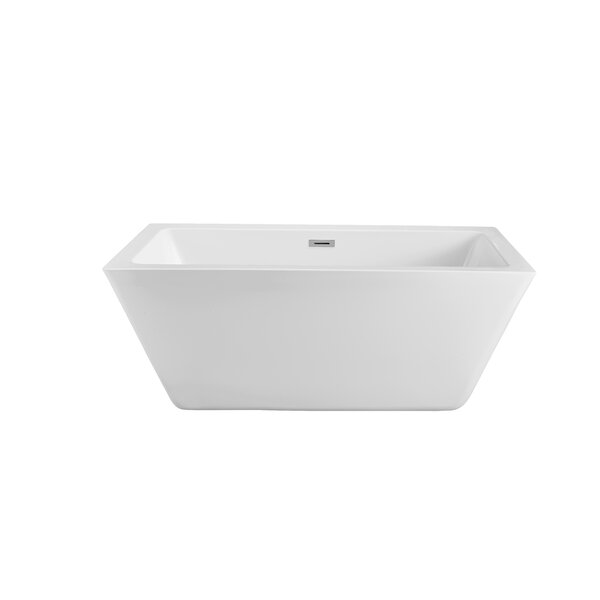 60 x 23.6 Freestanding Soaking Bathtub by Wildon Home ®