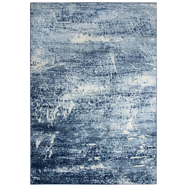 Lanette Blue Area Rug by Williston Forge