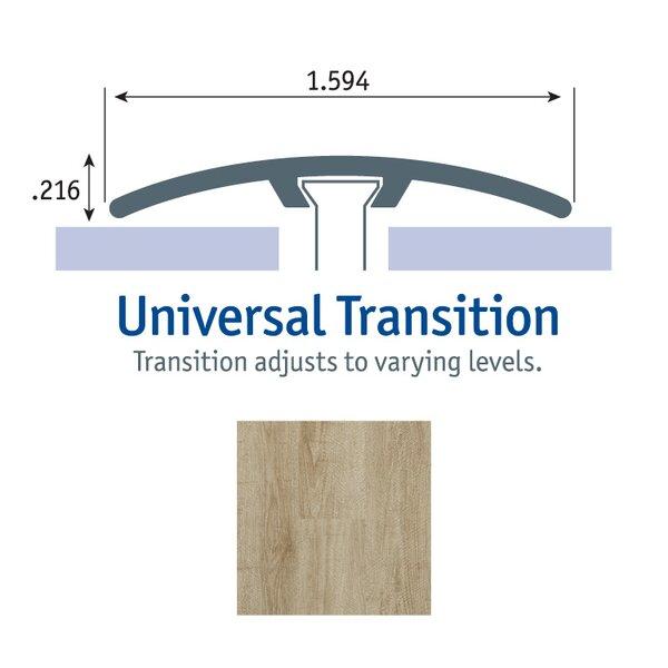 0.25 x 1.75 x 94 Cooper Oak Universal Transition in Bay by Tarkett