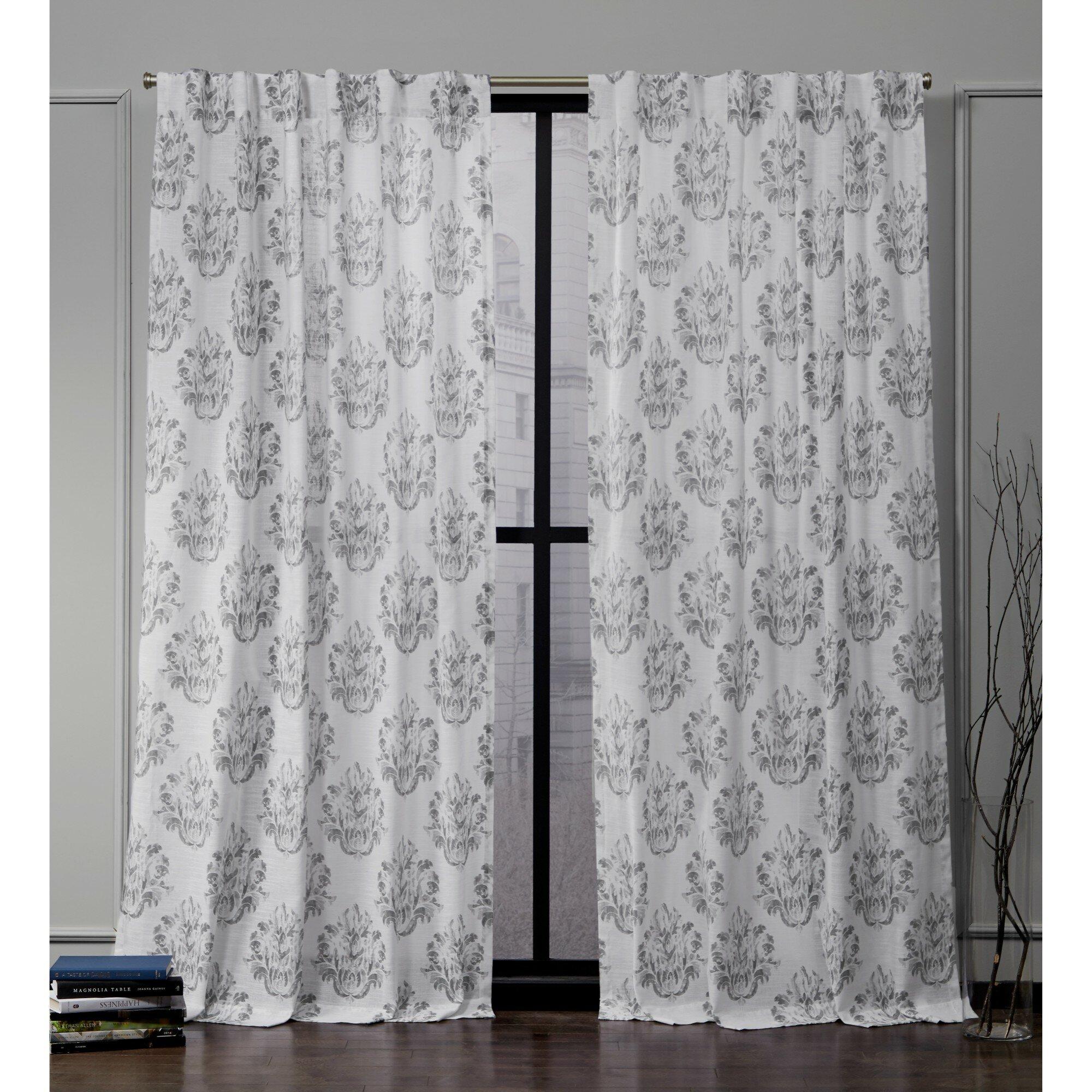 Photo Curtains Leaves sliding curtain sliding curtain to measure photo print//motif