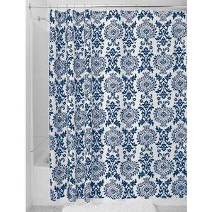 dark teal shower curtain.  damask shower curtain dark Dark Teal Shower Curtain Rod