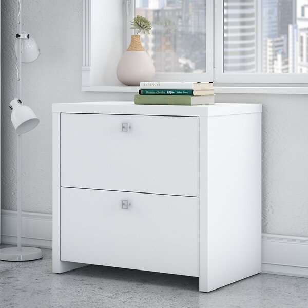 Echo 2-Drawer Lateral Filing Cabinet by Kathy Ireland Office by Bush