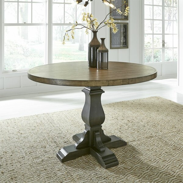 Zachariah Gathering Dining Table by Alcott Hill