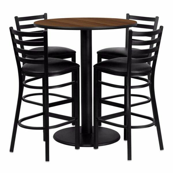 Raabe 5 Piece Pub Table Set by Red Barrel Studio