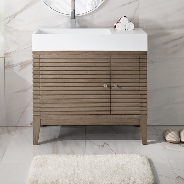 Mosley 36 Single Bathroom Vanity Set by Ivy BronxMosley 36 Single Bathroom Vanity Set by Ivy Bronx