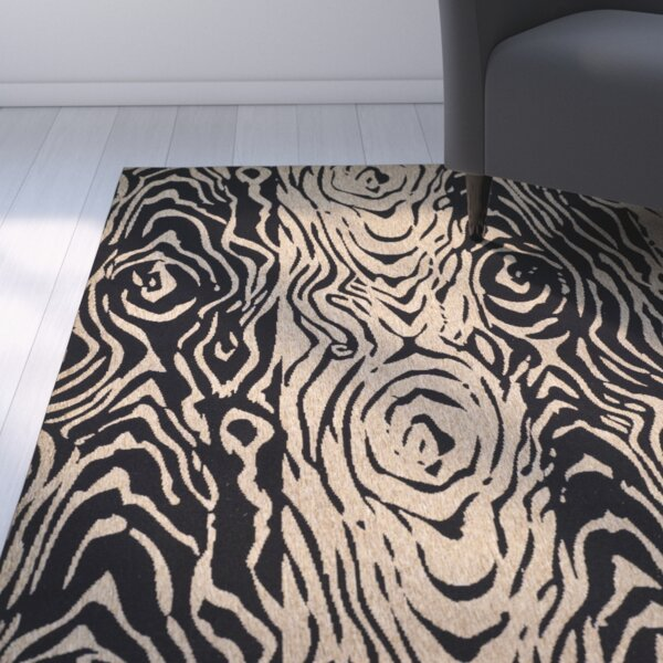 Coffee/Black Area Rug by Martha Stewart Rugs