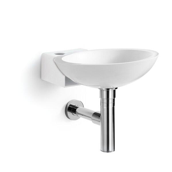 Ciuci Stone Circular Vessel Bathroom Sink by WS Bath Collections