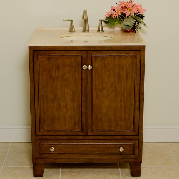 Sassy 30 Single Bathroom Vanity Set by B&I Direct Imports