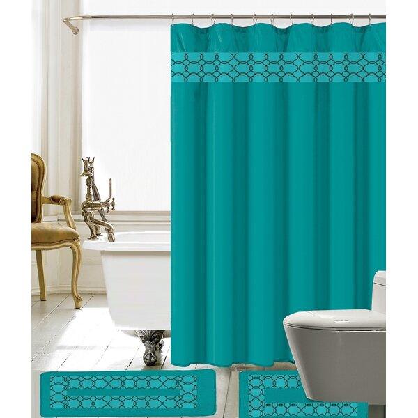 Avelaine Shower Curtain Set by Willa Arlo Interiors