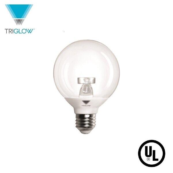 40W Equivalent E26 LED Globe Light Bulb by TriGlow