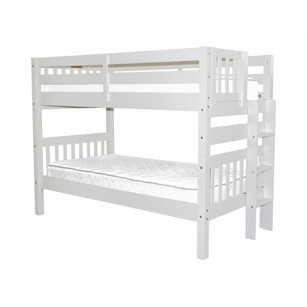 Treva Twin over Twin Bunk Bed by Harriet Bee